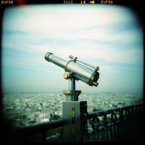 Telescope, looking forward